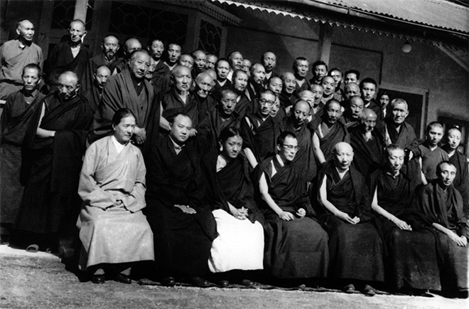 Lineage holders of Tibetan Buddhism