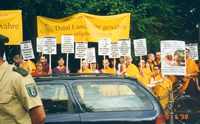 Shugden Supporters Community (SSC), Berlin, Tempodrom 1998