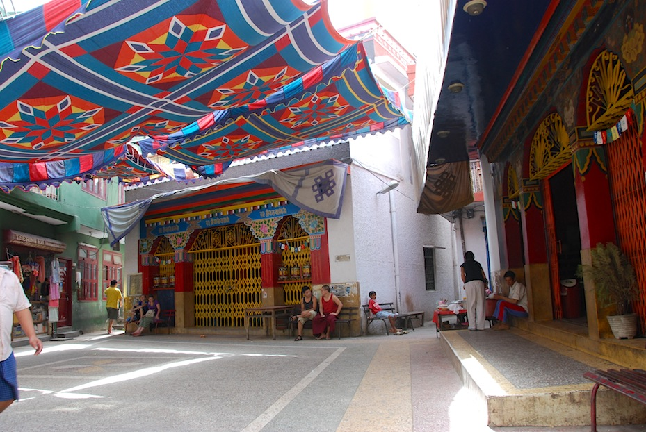 Majnu Katilla Tibetan camp in Delhi, India