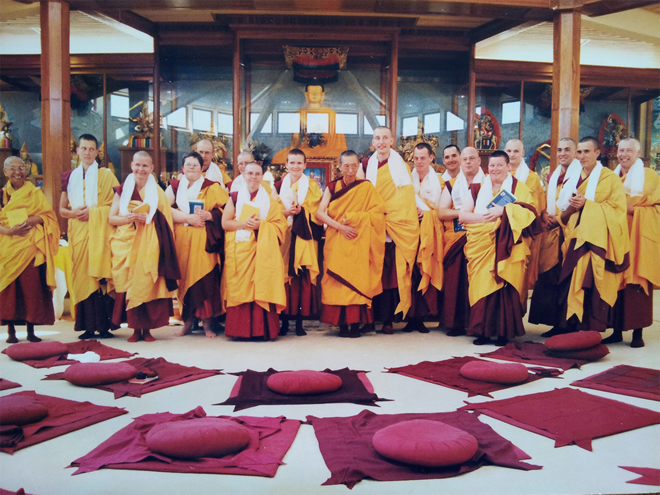 Kadampa Ordination