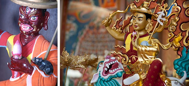 Dorje Shugden in New Kadampa Tradition and traditional iconography