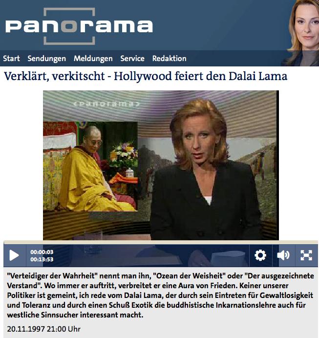 Dalai Lama Panorama Shugden
