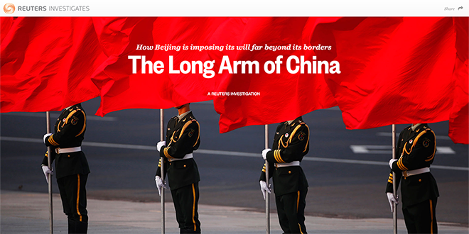 The Long Arm of China – Reuters
