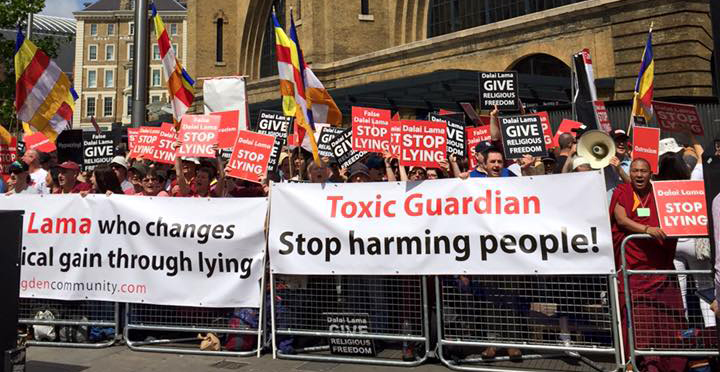 NKT/ISC Toxic Guardian protests