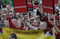 Protests in Germany 2008